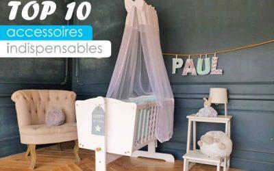 Les accessoires indispensables dans la chambre bébé