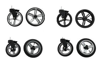 roues poussette